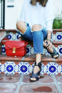 aimee_song_celine_bag_ripped_jeans_nine_west_heels
